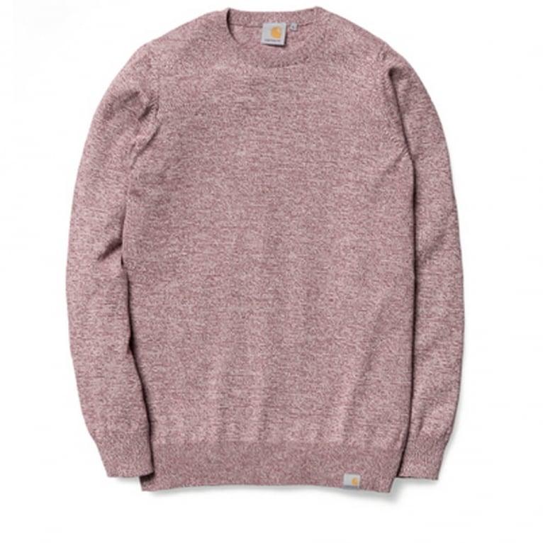 Carhartt WIP Toss Sweater - Cordovan
