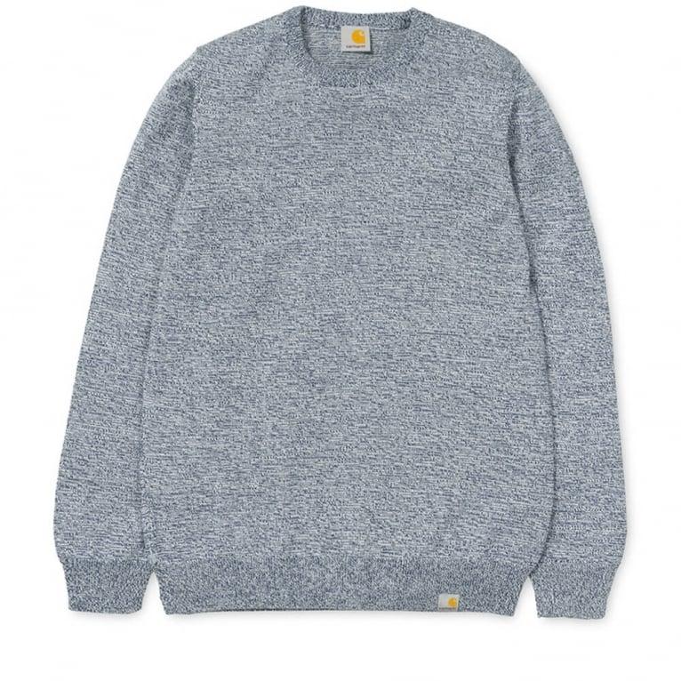 Carhartt WIP Toss Sweater - Metro Blue