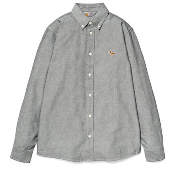 Carhartt WIP Tweed Shirt - Black