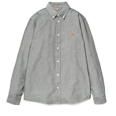 Tweed Shirt - Black