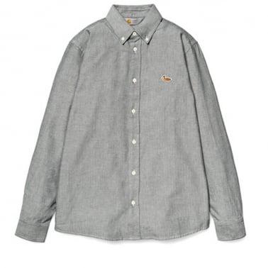 Tweed Shirt - Black