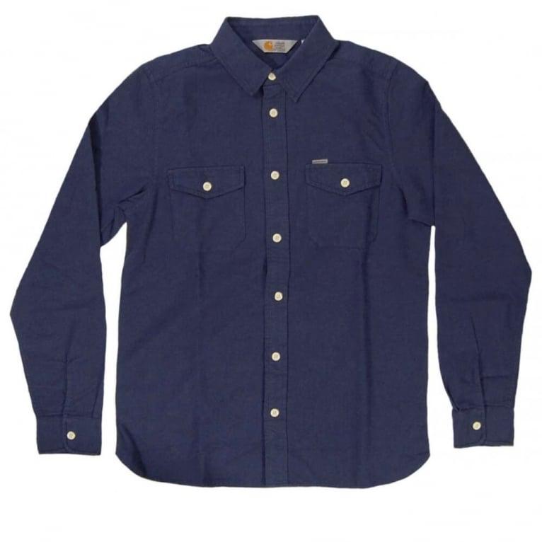 Carhartt WIP Vendor Shirt - Blue Heather
