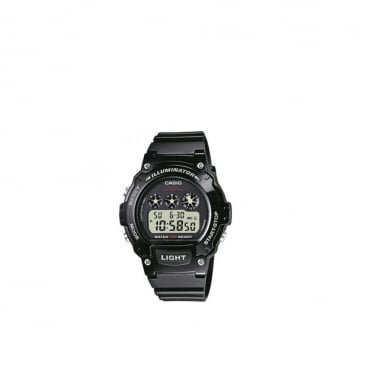 W-214HC-1AVEF Watch - Black