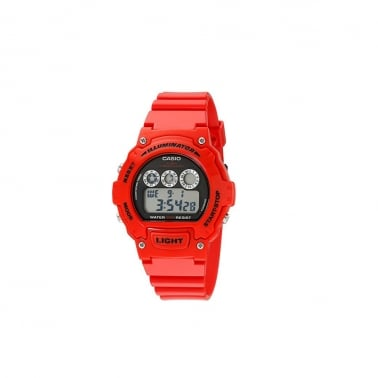 W-214HC-4AVEF Watch - Red