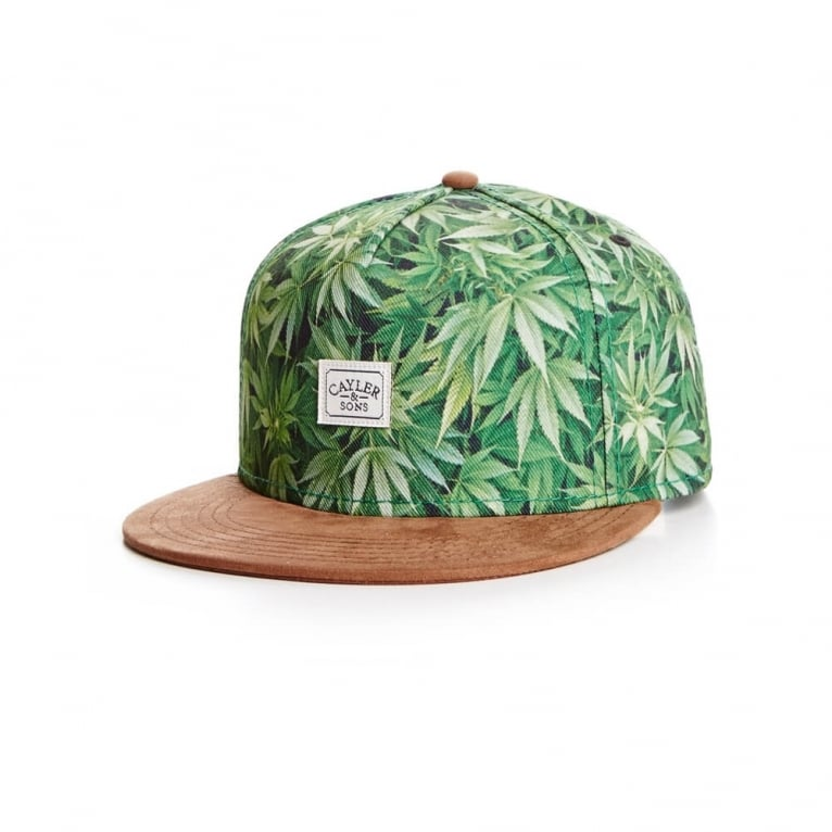 Cayler & Sons 2 Tone Kush Snapback - Green/Brown