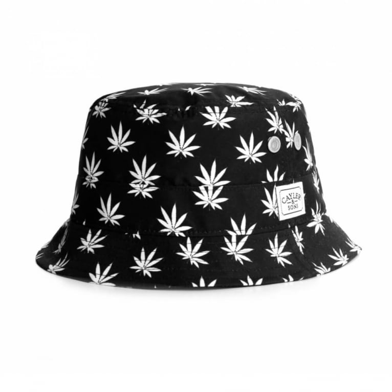Cayler & Sons BuDZ n Stripes Bucket Black/White