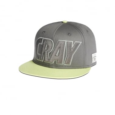 Cray Snapback - Grey/glow