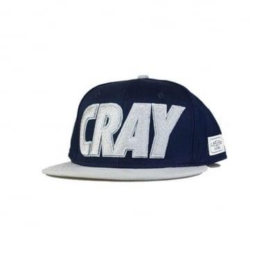 Cray Snapback - Navy