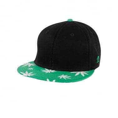 Mary Jane 2 Tone Cap - Black/Green