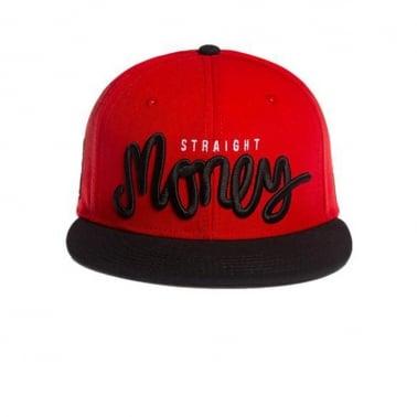 Money Cap - Red/Black