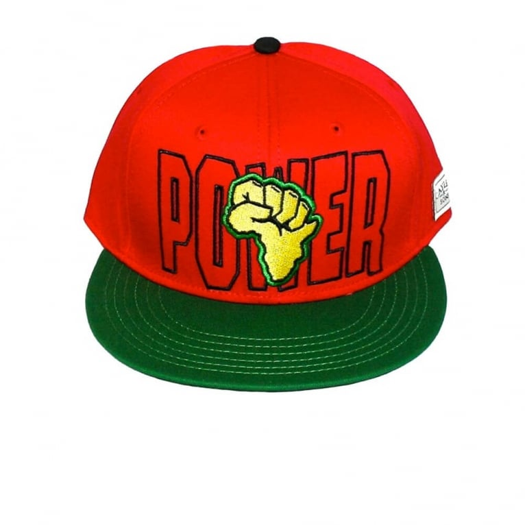 Cayler & Sons Power Snapback - Red/Yellow