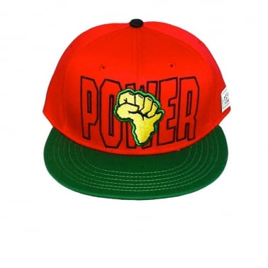 Power Snapback - Red/Yellow