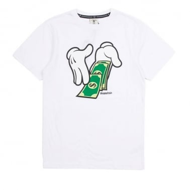 Rainmaker T-shirt - White/Green