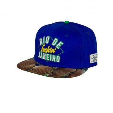 Rio City Snapback - Royal Blue