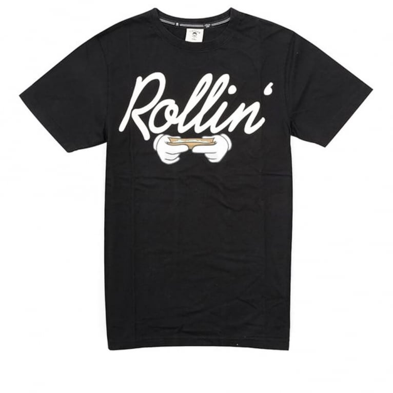 Cayler & Sons Rollin Tee Black/White