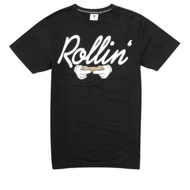 Rollin Tee Black/White