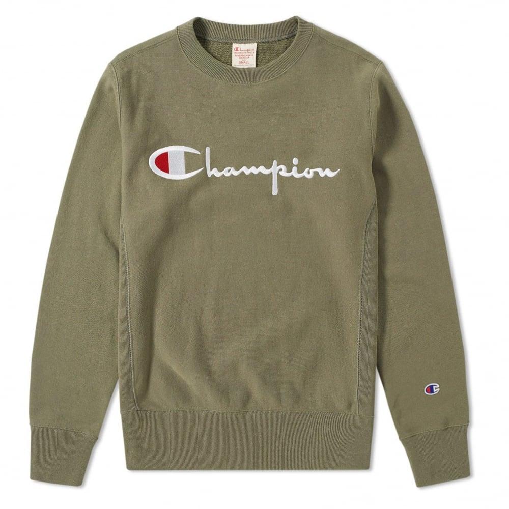 ca767a2b Champion Box Logo Crewneck Sweatshirt | Clothing | Natterjacks