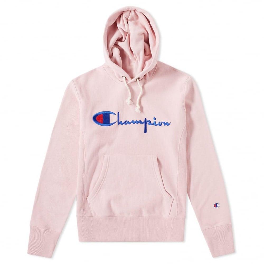Champion Box Logo Hoodie  3f4b910ea