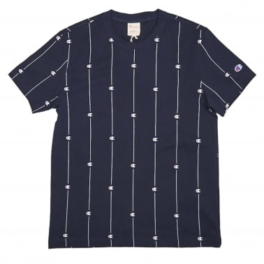 Pin Stripe Logo T-Shirt
