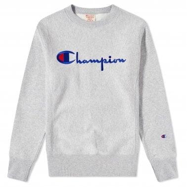 d14412650eaa Script Logo Crewneck Sweatshirt