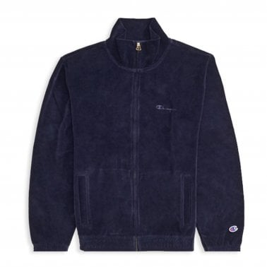 7fd7ab70ccfeb Velour Track Top - Navy
