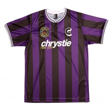 Soccer Jersey - Black/Purple