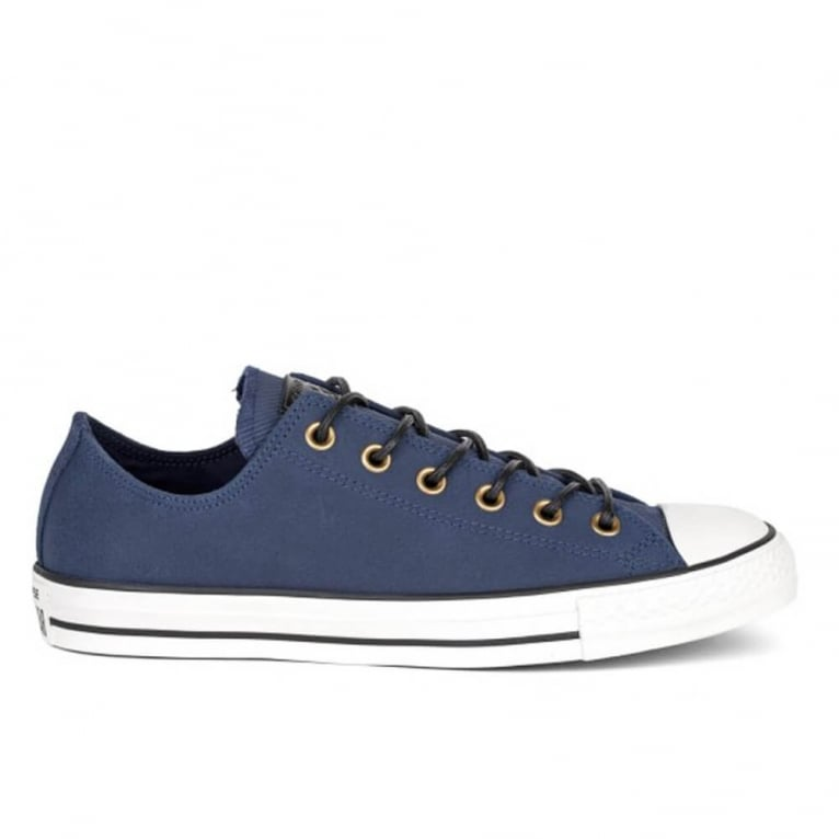 Chuck Taylor All Star Leather - Obsidian/Egret/Black