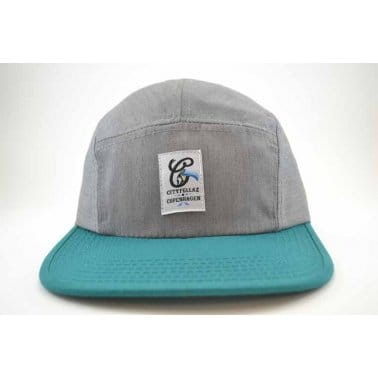 5 Panel Heather/Teal