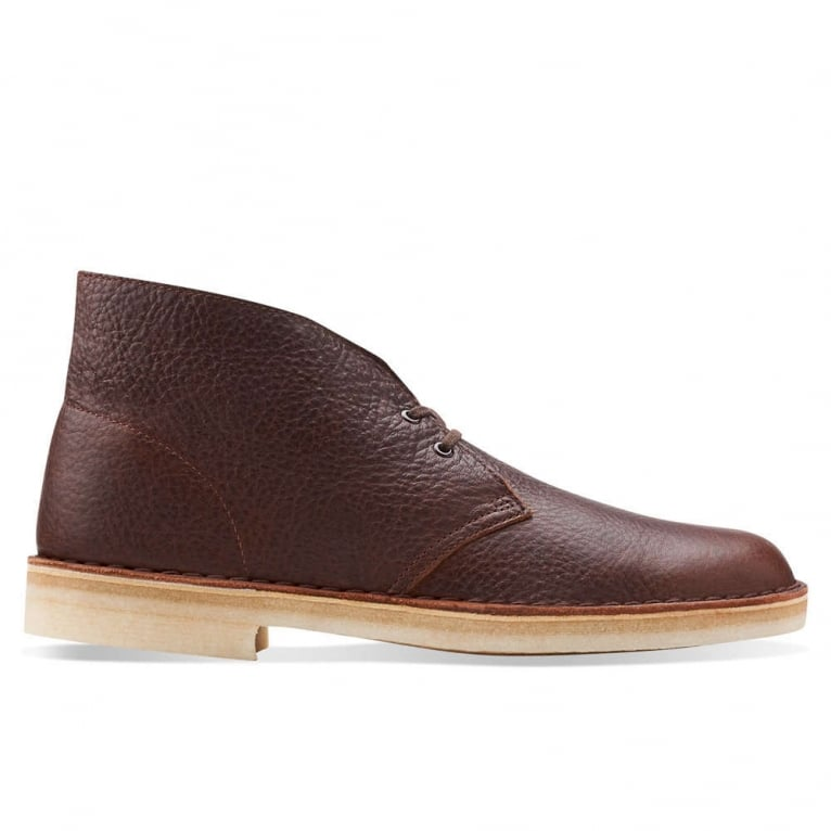 Clarks Originals Desert Boot - Brown Tumbled Leather