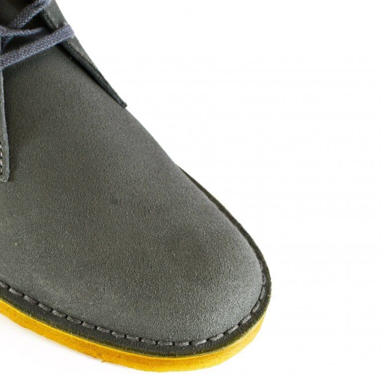 Clarks Originals Desert Boot Grey Suede