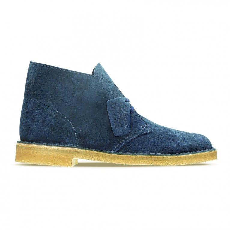 Clarks Originals Desert Boot Midnight Blue Suede