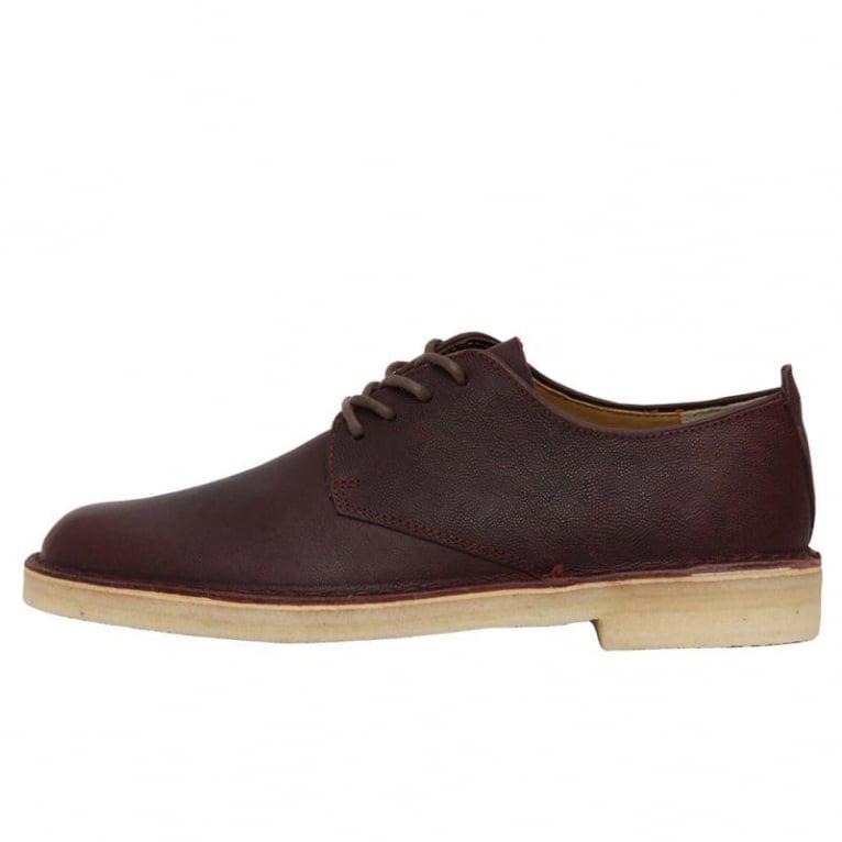 Clarks Originals Desert London - Wine Leather