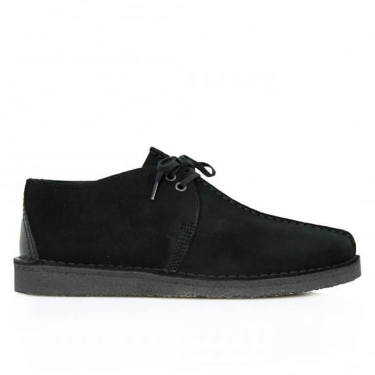 Clarks Originals Desert Trek - Black Suede