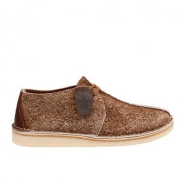 Desert Trek - Cola Hairy Suede