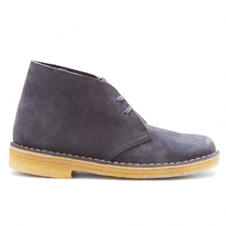 Clarks Originals Originals Desert Boot - Denim Suede