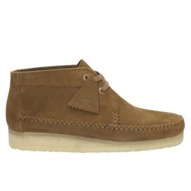 Weaver Boot - Cola Suede