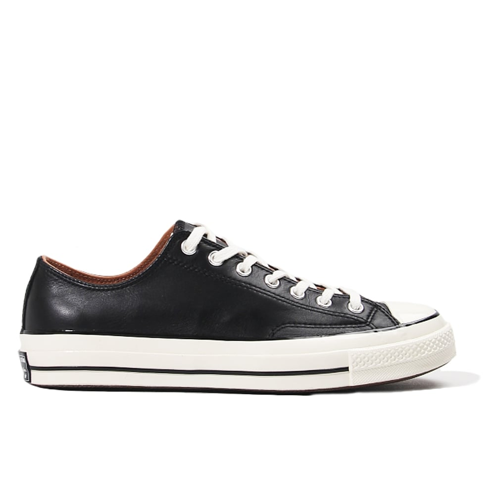 converse egret. all star 70\u0026#039;s leather ox - black/egret converse egret n