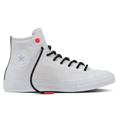 All Star Canvas Chuck II Shield - White/Lava