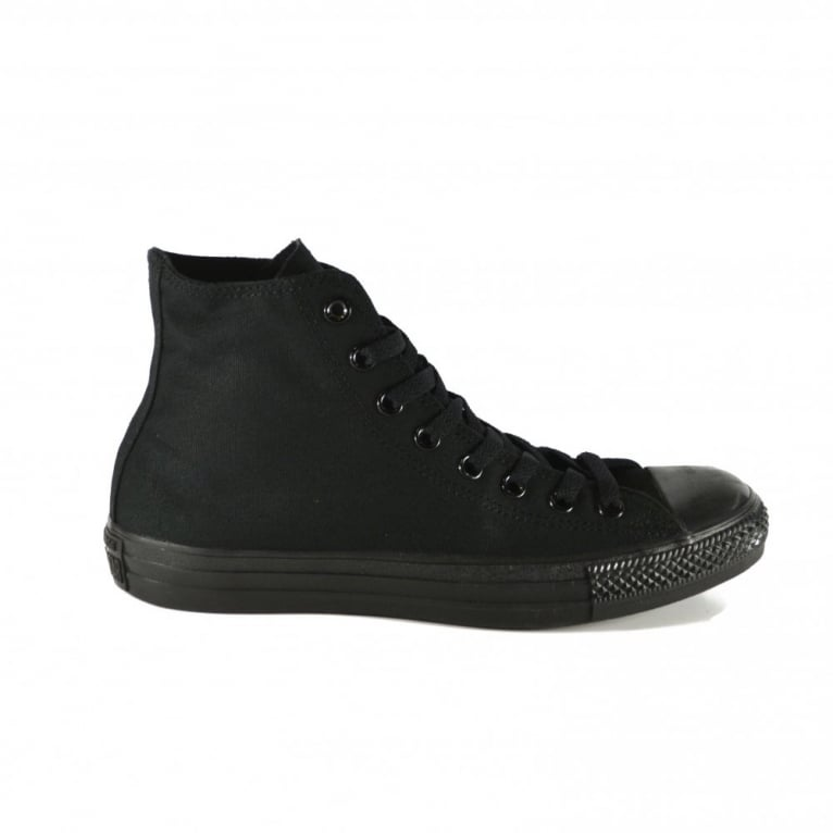 Converse All Star Hi - Black Monochrome