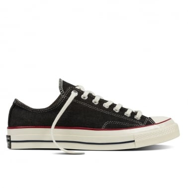 Chuck Taylor All Star 70's Denim - Black/Garnet/Egret