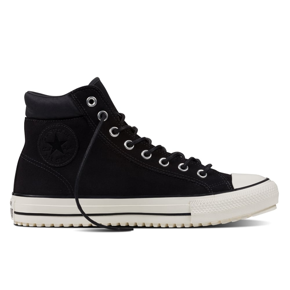 8b1acea26a7 Converse Chuck Taylor Boot Pc hi Almost Black | Footwear | Natterjacks