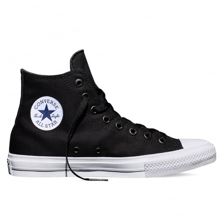 Converse Chuck Taylor All Star II Hi - Black/White