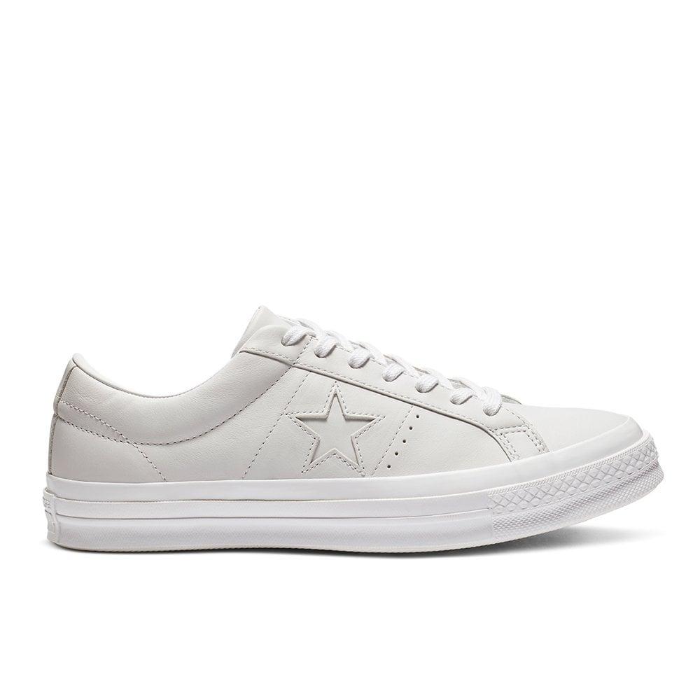 Sneakers Basse Uomo | ONE STAR OX LEATHER EgretBlackHerbal