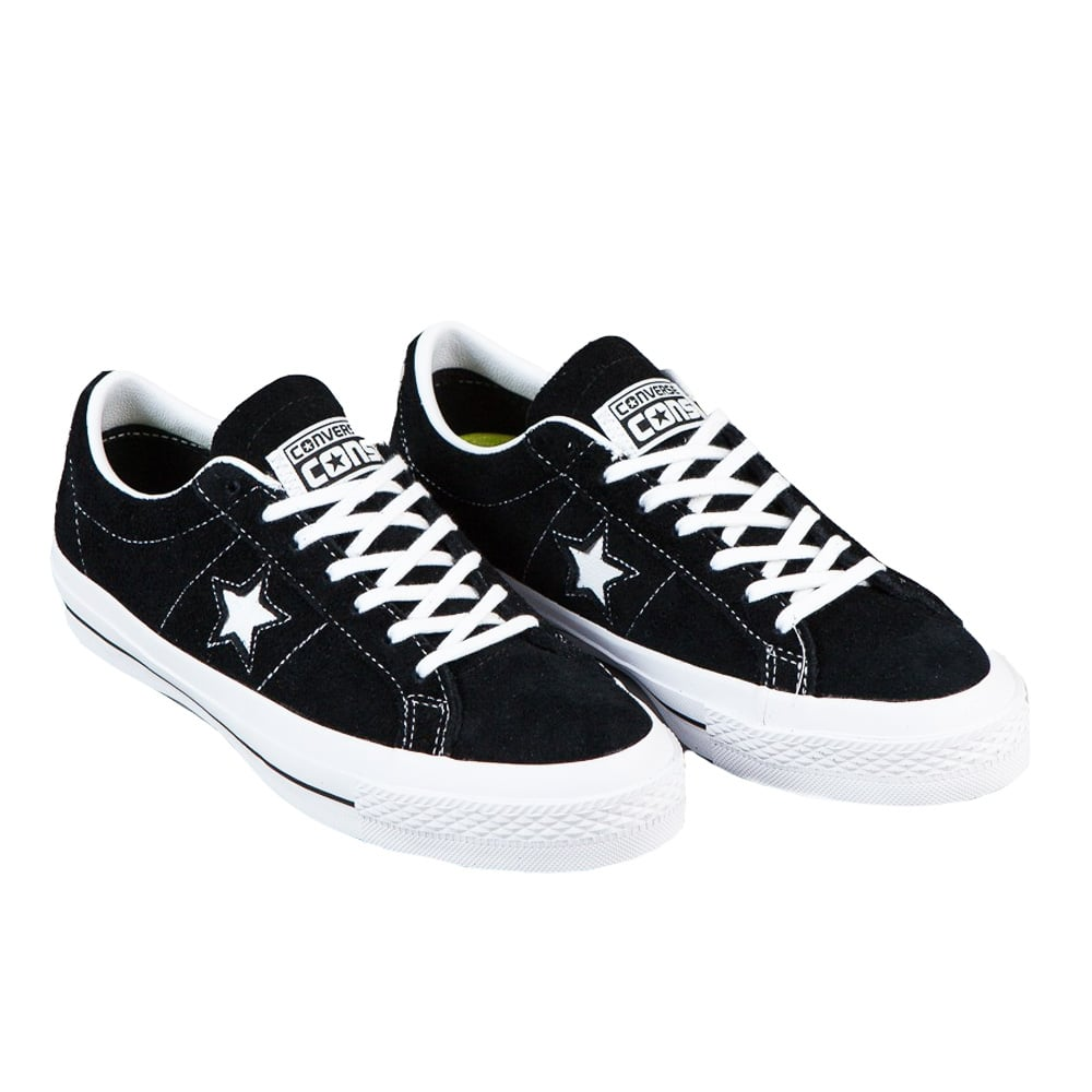 One Star Ox Skate Shoes black / white / white Converse feKrmMobn