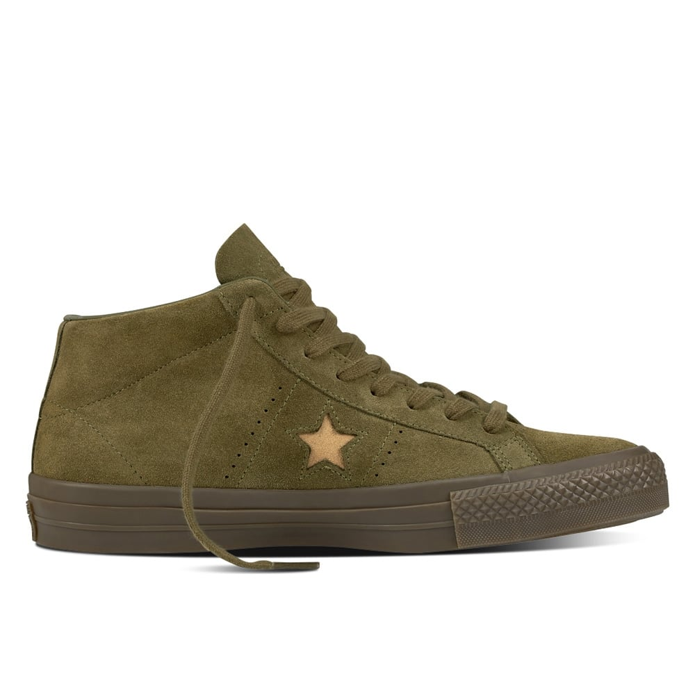 petrolero Salvaje Guiño  Converse One Star Pro Mid | Footwear | Natterjacks