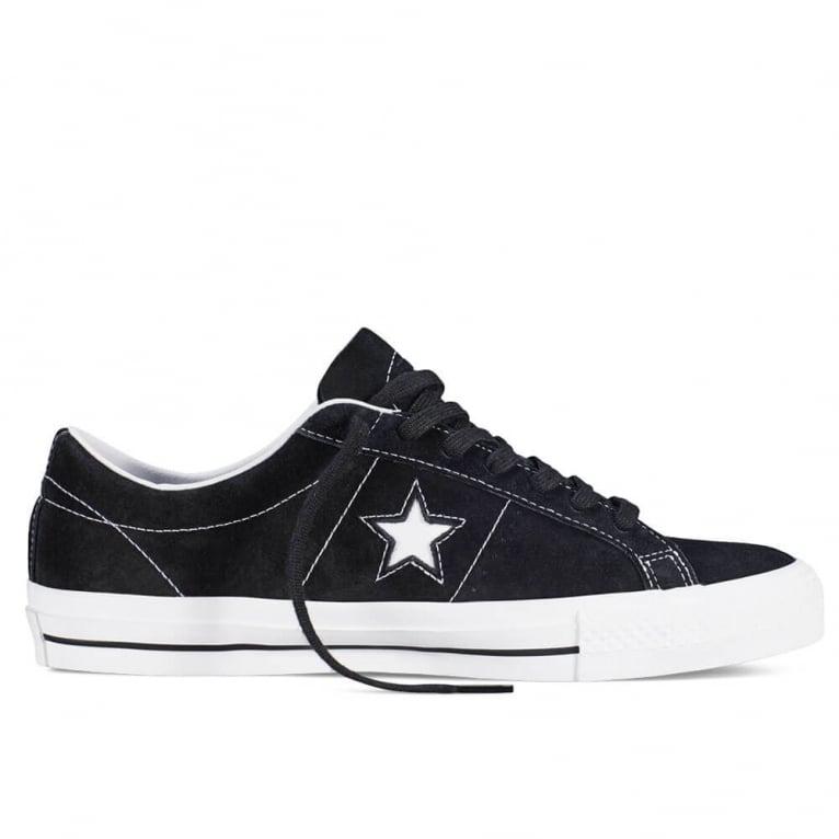 Converse One Star Skate - Black/White