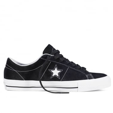 One Star Skate - Black/White