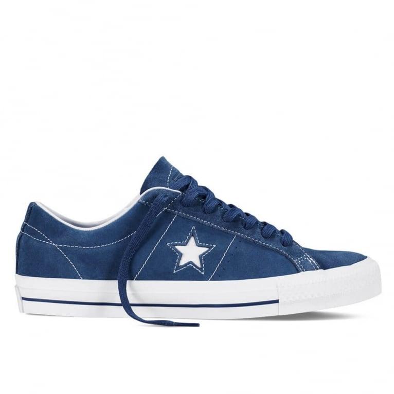 Converse One Star Skate - Navy/White