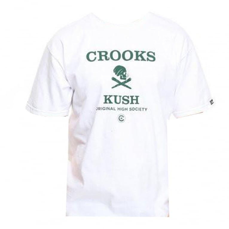 Crooks & Castles 420 Kush T-shirt - White
