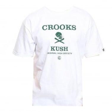 420 Kush T-shirt - White